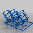 PaintHolder_2x2.png Download free STL file Modular Acrylic Paint Holder • 3D printable template, bobrob
