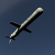 02.png Download 3DS file Tomahawk Missile • Template to 3D print, SimonTGriffiths