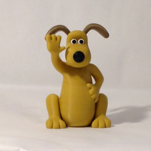 gromit front1.jpg Download free STL file Wallace and Gromit • Template to 3D print, reddadsteve