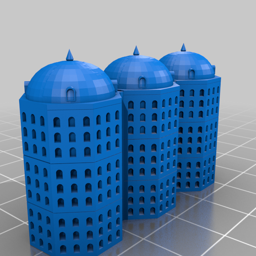 Player2-Piece14.png Download free STL file Cathedral Board Game v2 • Template to 3D print, Hardcore3D