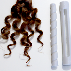curler.png Download STL file Crazy doll hair curlers • Object to 3D print, LegrandDoll