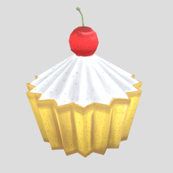 CubCake(Render).png Download free file Cup Cake stylized Low-poly • Model to 3D print, theworldentertainment