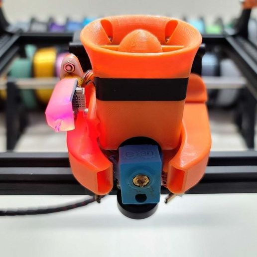 20200606_200447.jpg Download free STL file Thinker S dual blower hotend for stock and E3D V6 • Design to 3D print, madizmo