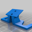 1b763ef8813a559350fbd8428f71ab58.png Download free STL file ps4 dualshock 4 controller wall mount holder • Template to 3D print, themarkrichards