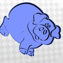 Sin título.png Download STL file Lil Pig Cutter • Object to 3D print, marcelosaldivia