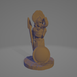 Amazon-Hornblower.png Download STL file Amazon Hornblower (No Supports Needed) • 3D printer template, Ellie_Valkyrie