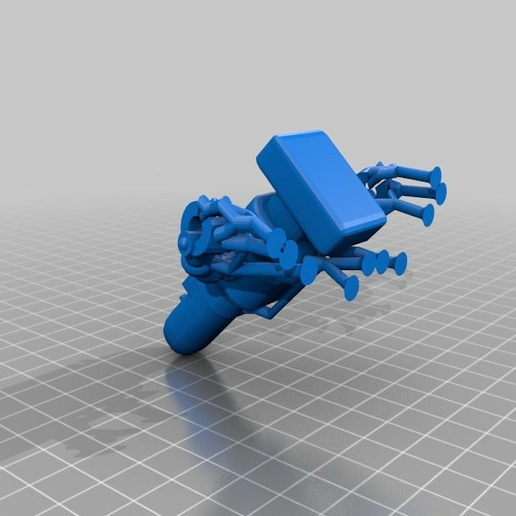 skinnyjimmy_fixed_sup.png Download free STL file Skinny Jimmy (with support) • Object to 3D print, ThinkerThing