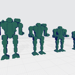mech_blips.png Download free STL file Mecha Blip Counters • 3D printing template, kevinrpeters