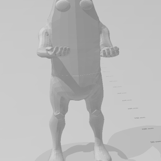peely2.png Download STL file peely fortnite • 3D printable object, pablocelu2018
