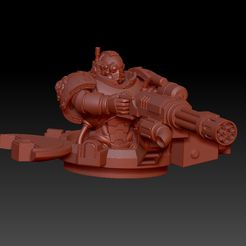 1.jpg Download free STL file Space Tank Crew (default pose) • 3D print model, oh_my_godable