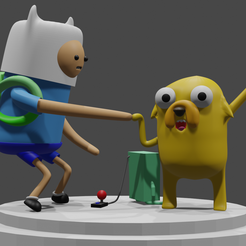 1.png Download STL file adventure time collectible #4 • 3D printing model, cocheco2