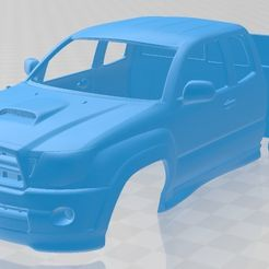 foto 1.jpg Download STL file Toyota Tacoma XRunner 2011 Printable Body Car • 3D printing template, hora80