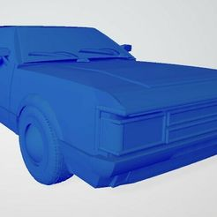 Ford-Consul-Coupe-1972-(1).jpg Download STL file Ford Consul Coupe 1972 • 3D printable object, janhoog1954