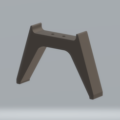 qed_foot.png Download free STL file QED PL2 & PL3 Replacement foot for control box • Template to 3D print, BigNoel