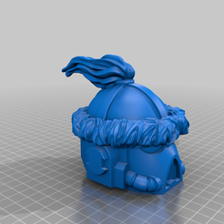 Space_Mongols_Helmet.png Download free STL file Space Mongol Helmets • 3D printable object, Rob_Jedi