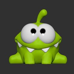 1.JPG Download free STL file om nom • 3D printing model, SparkyFace5