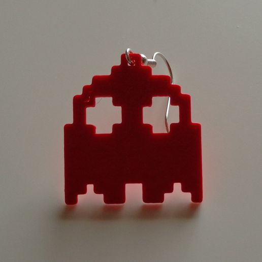 thumb_DSC01996_1024.jpg Download free STL file PacMan earrings • 3D printer template, OM3D