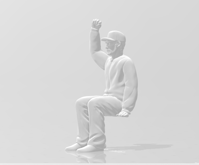Snapshot_11.png Download STL file Man Seated Man Seated • 3D print model, moviemasterdvd