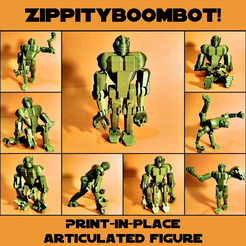Capture d'écran 2017-03-24 à 12.25.28.png Download free STL file Print-in-place articulated figure: Zippityboombot! • 3D printer model, Zippityboomba