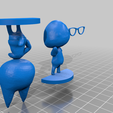 raymond_for_print.png Download free STL file Raymond - Animal Crossing • 3D print design, skelei
