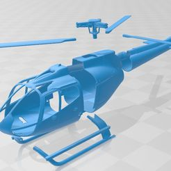 foto 10.jpg Download STL file Helicopter Printable  • Object to 3D print, hora80