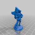 Rocket.png Download free STL file Rocket Launcher Banana Space Knight in Power Armour • 3D printable object, BigMrTong