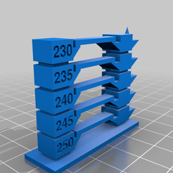 temptower_20200705-66-10gdeq2.png Download free GCODE file Temperature Tower 250 - 230 PETG with Prusa gcode • Design to 3D print, frank_muc