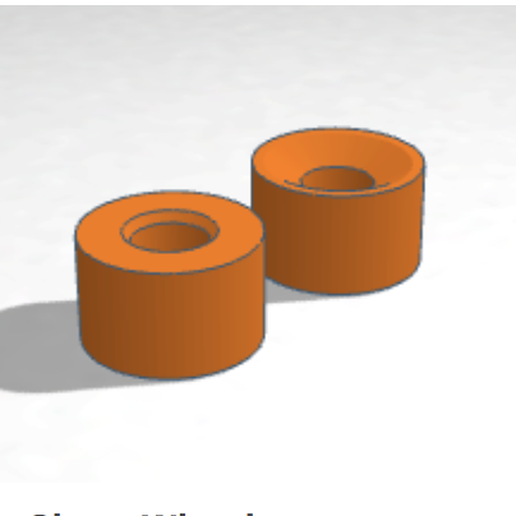 Screen Shot 2020-03-27 at 5.34.18 PM.png Download free STL file Quad Roller Skate Wheel • 3D print model, projectileobjects