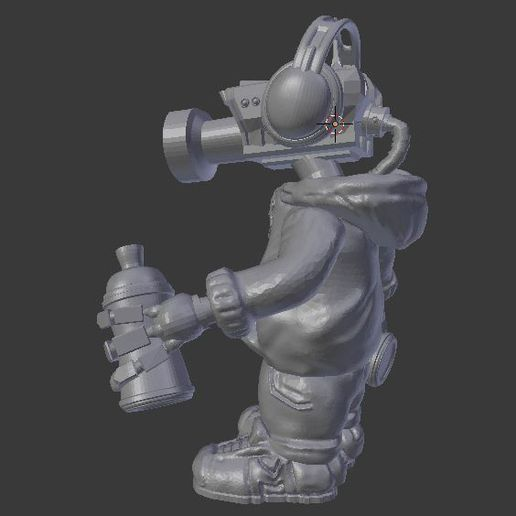 Capture_2.JPG Download free STL file CCTV Punk by Mehdals • Model to 3D print, Mehdals