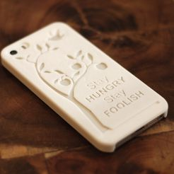 DSC_4429.JPG Download free STL file Steve Jobs Quote Iphone 5 Case • 3D printing design, FORMBYTE