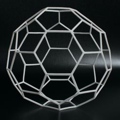 ball.jpg Download STL file Elastic Hexaball (Spherical polyhedron) • 3D printing model, GabrielYun