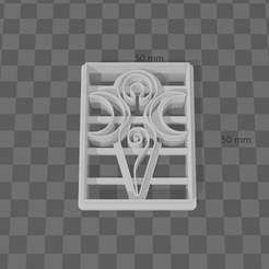 goddess_cookie_cutte.png Download STL file Goddess Cookie Cutter • 3D printable object, secondcoming