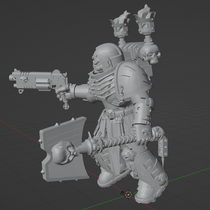 Screenshot from 2020-08-06 16-35-16.png Download free STL file Angry Priest of Death • 3D printable design, GrimmTheMaker