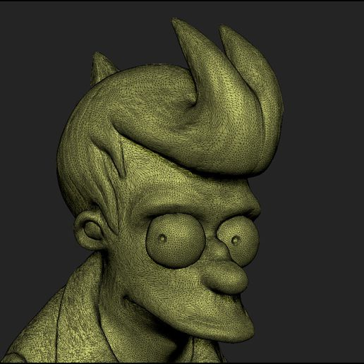 fry-prev-03.jpg Download STL file Fry from Futurama • 3D print template, udograf