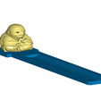 SIcomplete_-_Copy.png Download free STL file Sloth Buddha Incense Burner (Interchangeable) • 3D printable object, ToaKamate