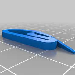 Curtain_ring.png Download free STL file Swish curtain hook • Design to 3D print, 3D-Designs