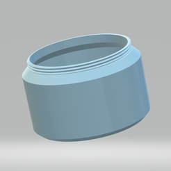 Fond boite D80 mm.png Download STL file BOX • 3D printable template, FAB23