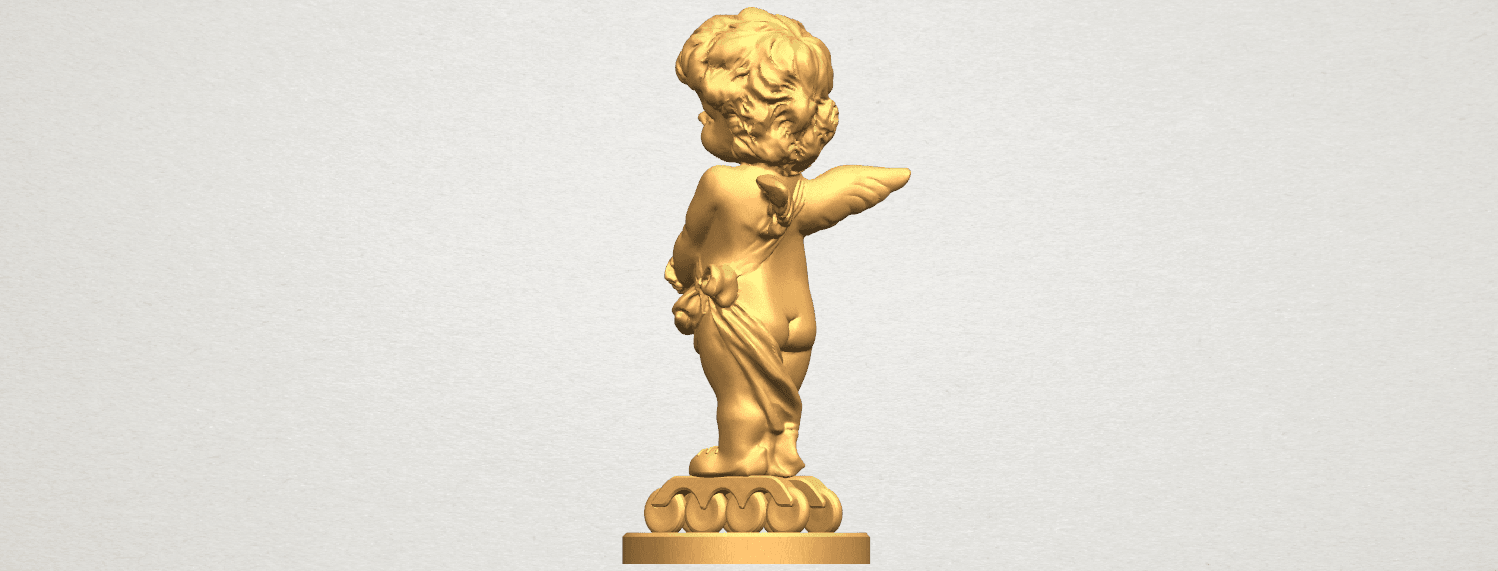 TDA0479 Angel Baby 02 A03.png Download free STL file Angel Baby 02 • 3D printer model, GeorgesNikkei