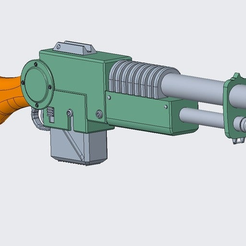 4.PNG Download free STL file Lucius Pattern Lasgun for Cosplay • 3D print object, SevenUnited
