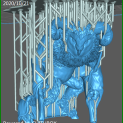 screenShot_Auril_Crone_01_32mm.png Download free STL file 32mm Aurils final form fully supported • 3D print object, dungeonmaster