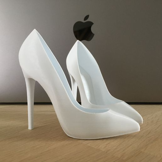 IMG_5758.JPG Download STL file High heels Pump • 3D print object, JOlivier