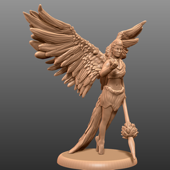 1.png Download free STL file Bluejay Guardian - Tabletop Miniature • 3D printing object, M3DM