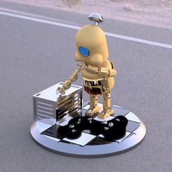 ImagenCults1.jpg Download STL file Vomit Robot - What happen me? • 3D printable model, Pasanus