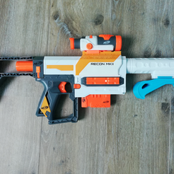 Image_1.png Download STL file Nerf Grip • 3D printing object, ludovic_gauthier