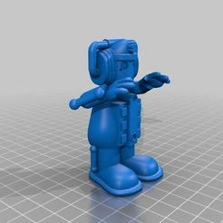 cybo_leader_200414.jpg Download free STL file This is the Cybo Leader • 3D printer template, Tildane