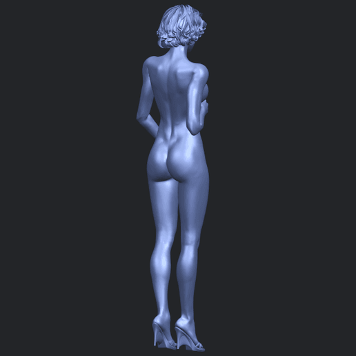 08_TDA0464_Naked_Girl_18_ex800B08.png Download free file Naked Girl 18 • 3D printable object, GeorgesNikkei