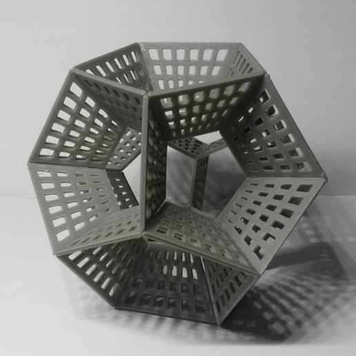 20170215_202233.jpg Download free STL file Dodecahedron Pencil Holder • 3D printing object, Chrisibub