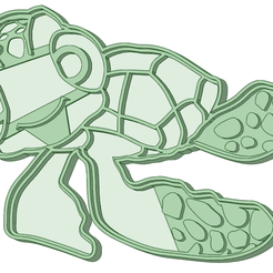 Chiqui.png Download STL file Chiqui cookie cutter Nemo • 3D printer template, osval74