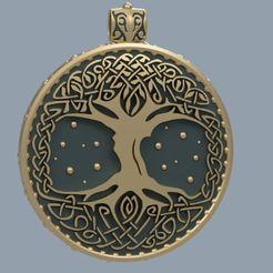 tree of life  vol3 4.PNG Download STL file TREE OF LIFE. VOL.3 • Design to 3D print, MastersChronicles