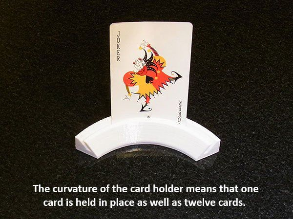 cardholder_3_display_large.jpg Download free STL file Playing Card Holder - Holds your cards for you while you play! • Object to 3D print, Muzz64